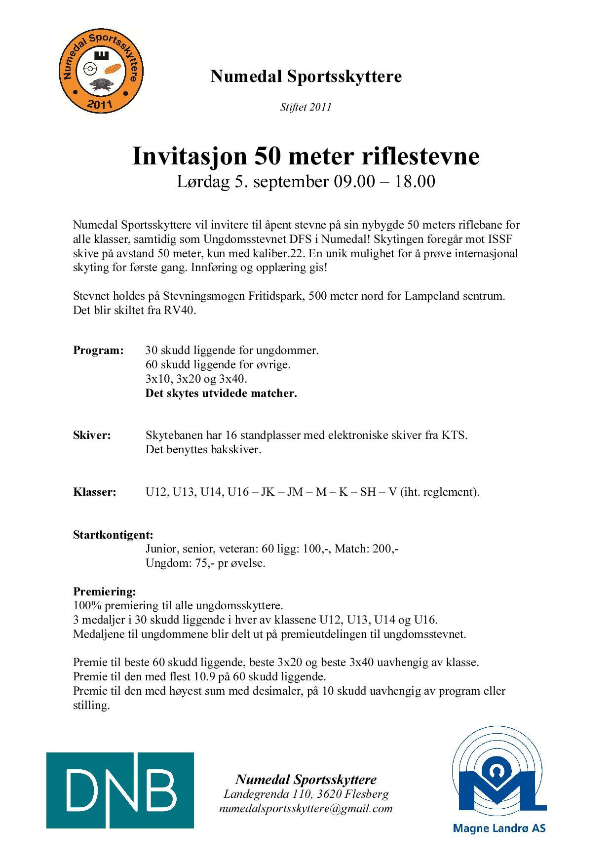 invitasjon_stevne_50m_ Numedal_september_2015